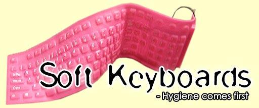 Soft Foldable Keyboards at Otaku House