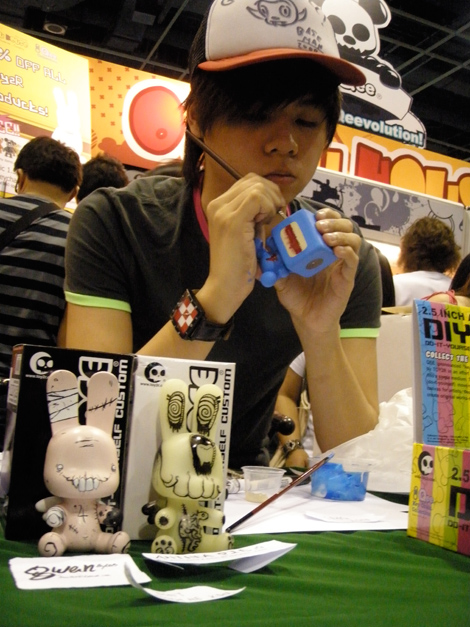 Custom BoxeeQ Qee at STGCC 2009