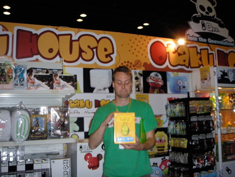 David horvath at Otaku House Booth