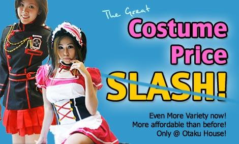 Otaku House Cosplay Costume Price Slash